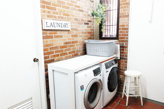 Our Laundry Makeover And Why We Love Our Washer And Dryer Mama The Explorer